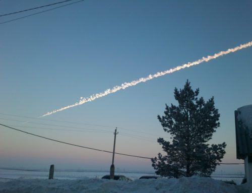 El Meteorito de Rusia Chelyabinsk